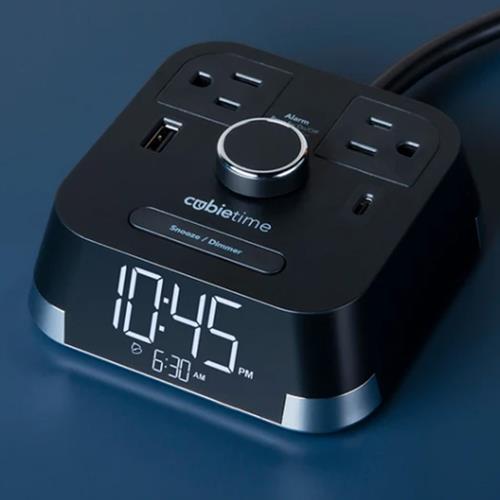 Avm Enterprises Inc Cubie Time Single Day Alarm Clock