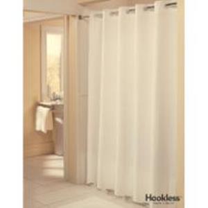 Product Description Pique Weave HooklessR Shower Curtain