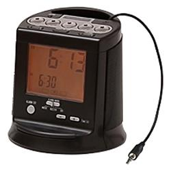 hamilton beach alarm clock radio compatible with any mp3 player clocks clock radios. Black Bedroom Furniture Sets. Home Design Ideas