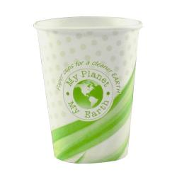 Plain Hot/Cold Wrapped Paper Cups