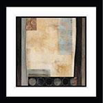 Abstract Cool Square II Artwork