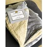Gray Sherpa Blanket