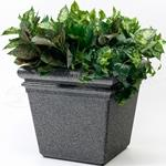 "StoneTec® Planter 18"" - Pepperstone"