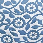 King Size Decorative Coverlet - Sunrise Blue