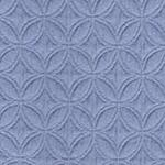 King Size Decorative Coverlet - Sunrise Blue (Solid)