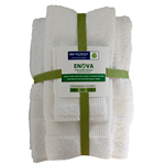 "16x27 Hand Towels ""Enova Green"""