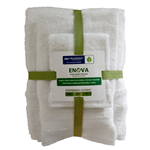 "16x30 Hand Towels ""Enova Green"""