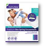 Healthy Sleep Full XL Box Spring Encasement