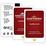 Hawthorn Suites By Wyndham Keycards