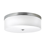 "16"" Ceiling Light w/ Brushed Nickel Finish"