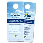 "Microtel Inn & Suites ""Do Not Disturb"" Signs"