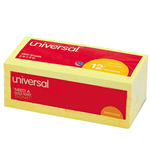 "3""x3"" Universal Post-It Notes - Yellow"